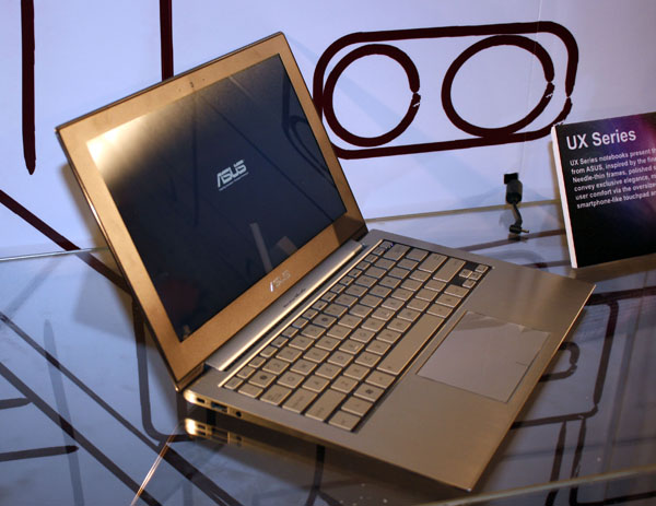 ASUS UX21 Ultra Thin Notebook on Market Soon