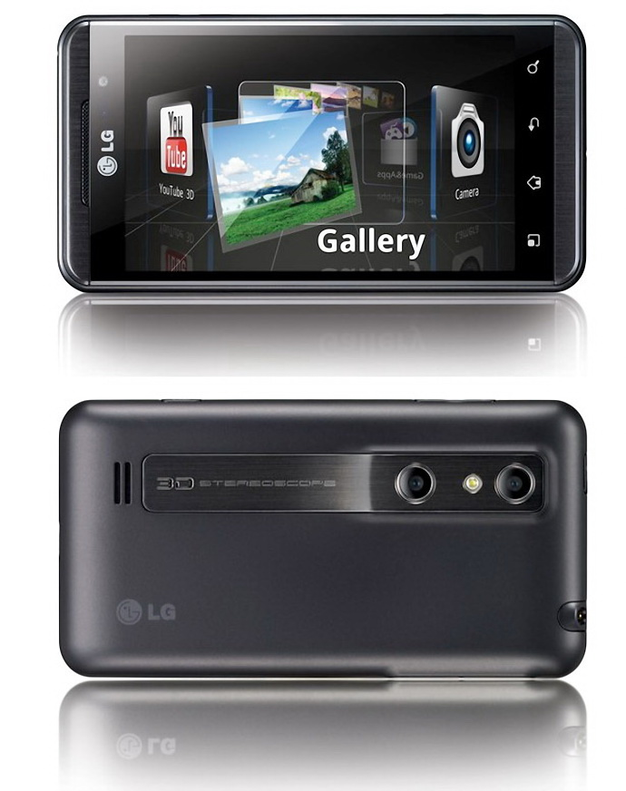 LG Optimus 3D Android Smart Phone Review
