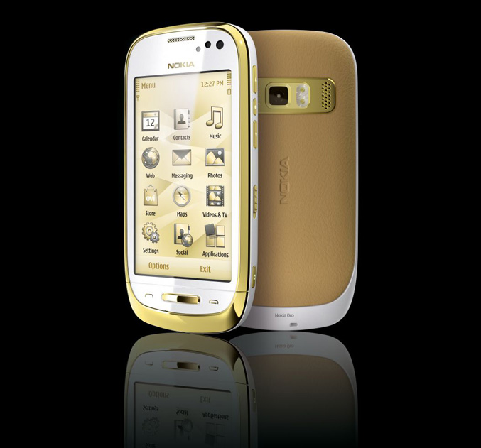 Nokia Oro – Royal Gold Plated Phone