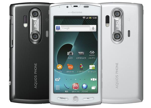 Sharp Aquos SH-12C 3D Smartphone Review
