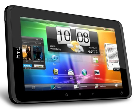 HTC EVO View Tablet Review