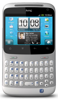 HTC ChaCha FaceBook Phone Review