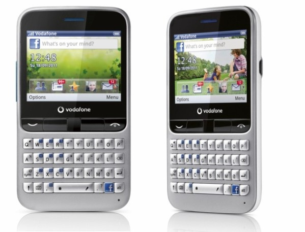 Vodafone 555 Blue – Facebook Phone Review