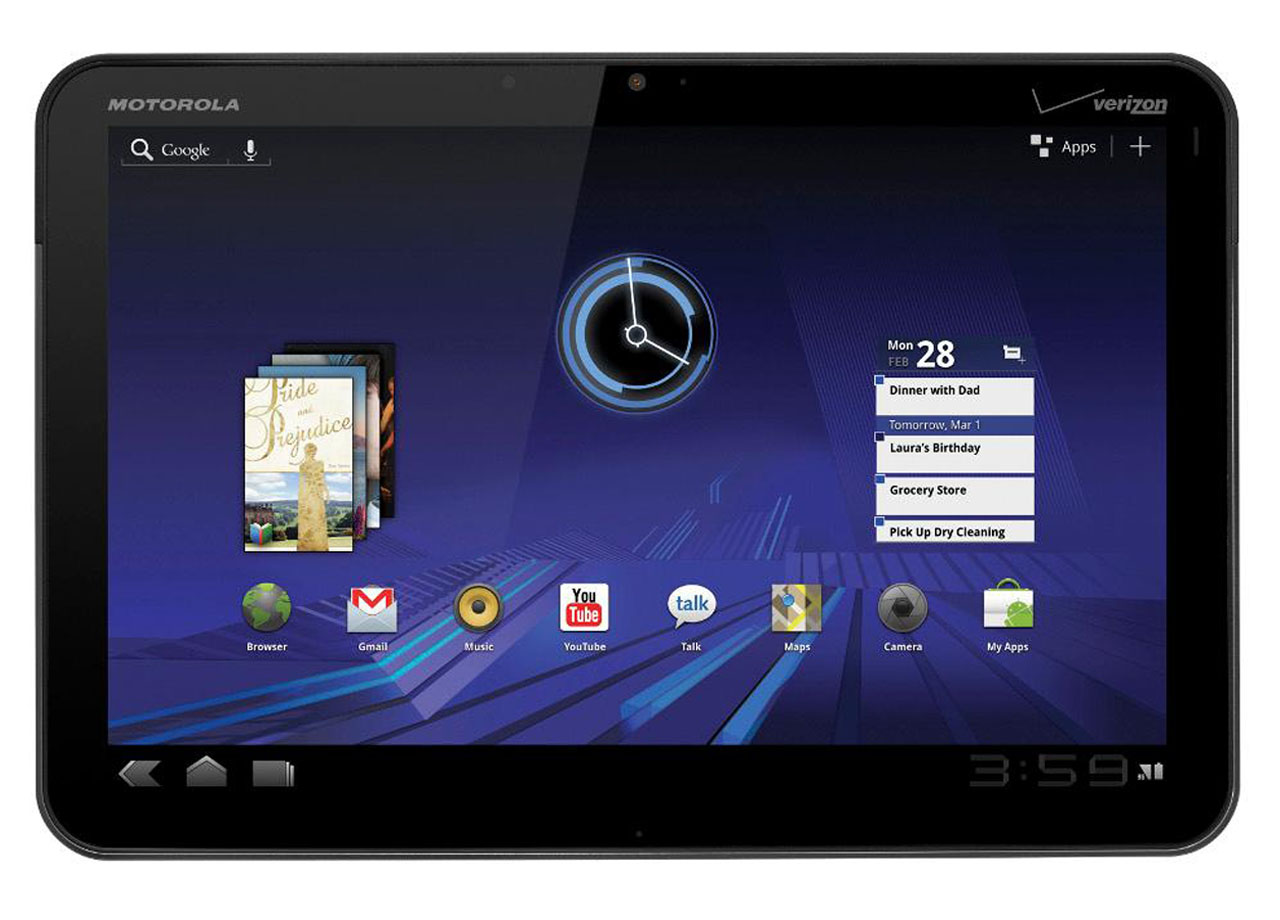 Motorola Xoom Android Tablet Review