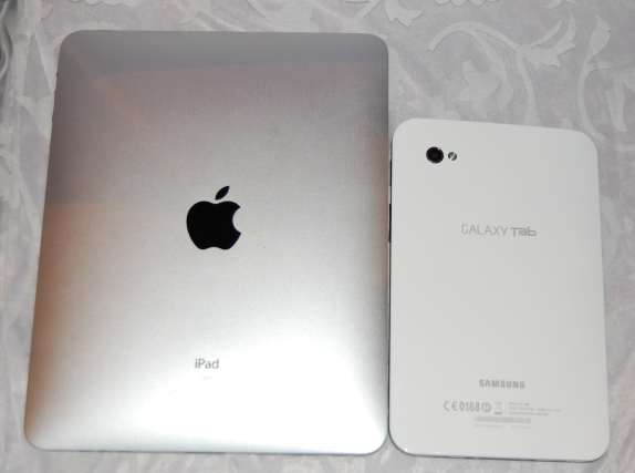 The Advantage of Apple iPad over Samsung Galaxy Tab