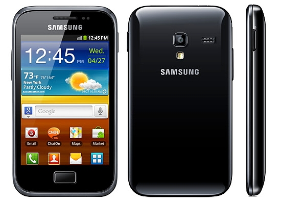 Samsung Galaxy Ace Plus – Really Smart Phone