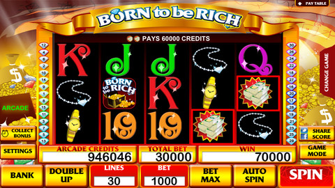 Born To Be Rich Slot Machine- For you can be rich too