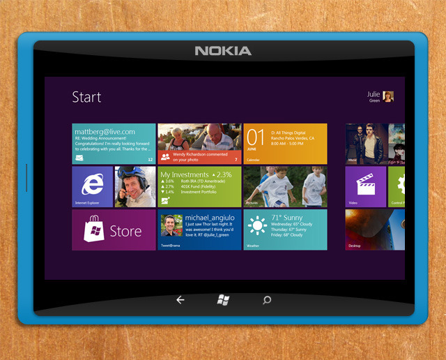 Nokia Reportedly in Talks to Produce a 10-inch Windows RT Tablet