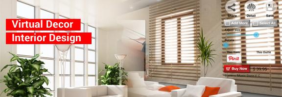 Virtual Décor Interior Design helps you Decorate your Virtual Home