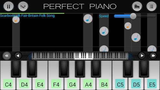Perfect Piano- Play the Piano on Your Smartphone