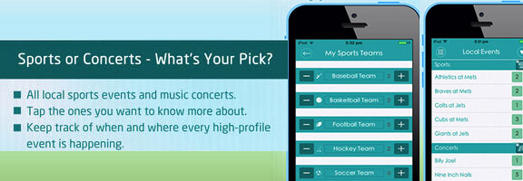InSlideOut : Keet Track Your Entertainment Events