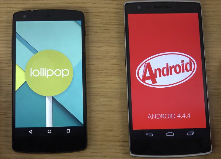 Condition to Pick-up Stylish Android Lollipop Phones
