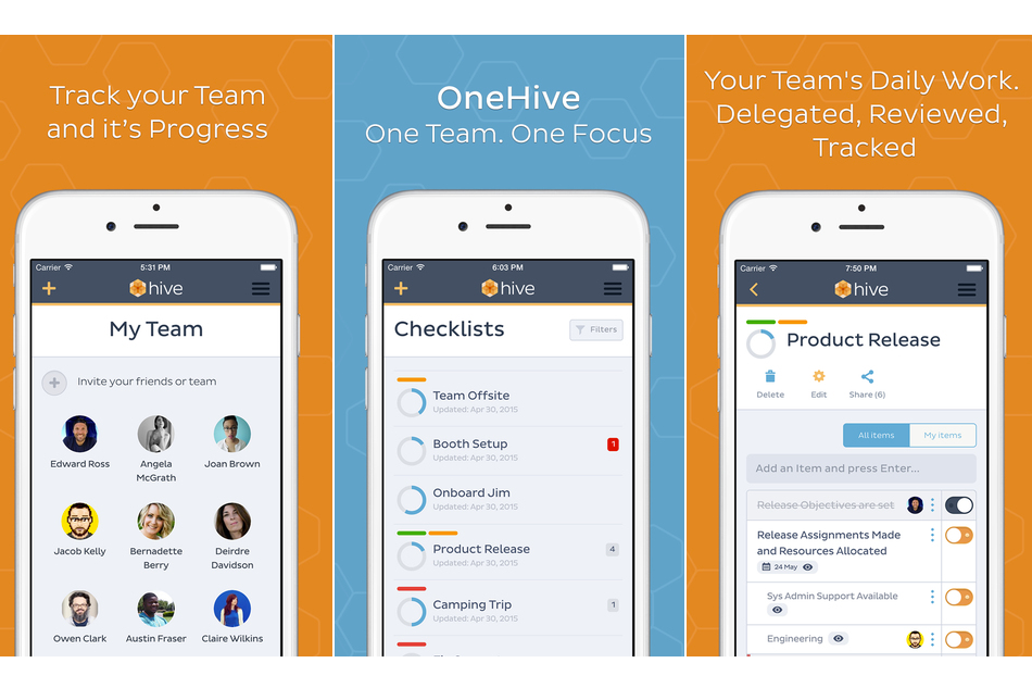 OneHive: An iOS App Review