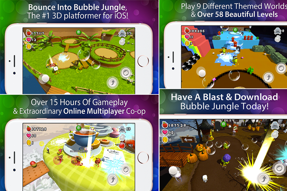 Bubble Jungle Pro : Experience with Friends and Family
