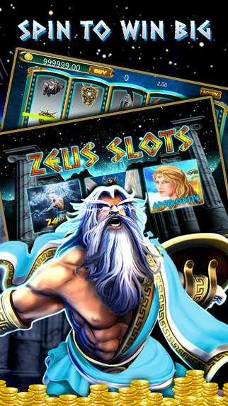 Review of iOS App – Zeus the Thunderer Greek God Casino
