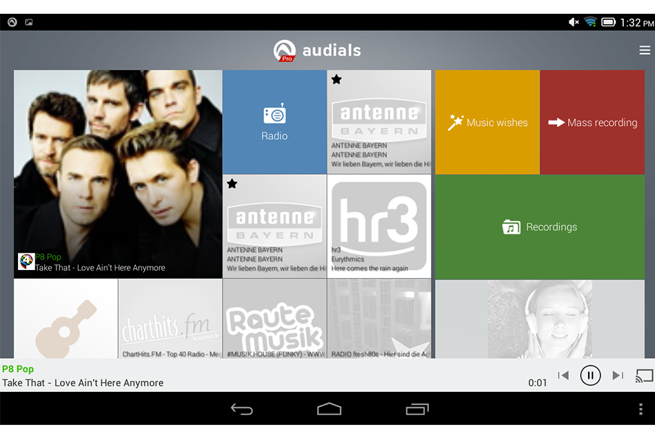 Audials Radio Player Recorder App; A Chance To Listen and Record Great Music