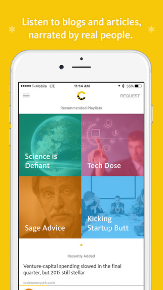 Colony FM- Article Narration App Review