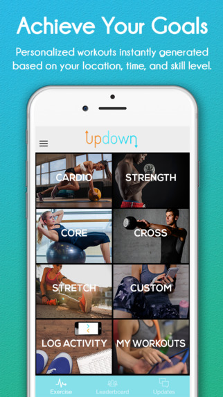 The Updown Fitness iPhone app – You Must Try