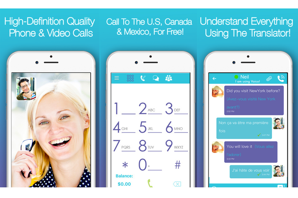 Voico, the #1 free international calling app!
