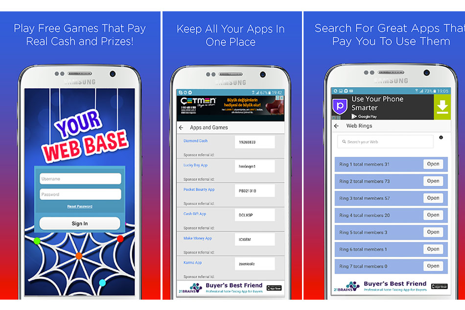 Your Web Base – Get connected- Android App Review