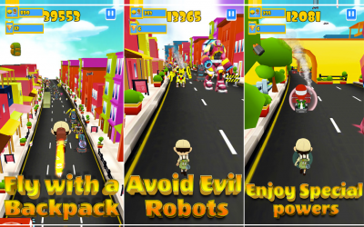 Robot Clash Run – iPhone App Review