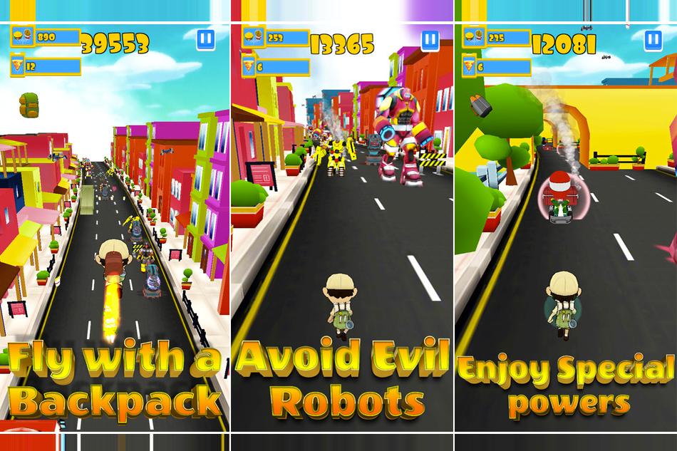 Robot Clash Run – iPhone App Review