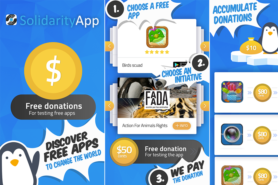Solidarity – App for Charity Support
