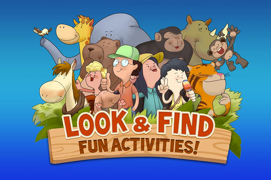 Look & Find: Fun Activities! – Review