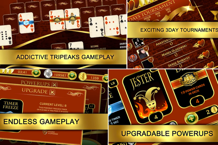 Towers TriPeak (Classic Pyramid Solitaire android app) Game Review