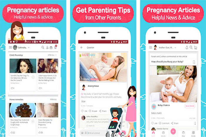 BabyChakra Parenting Help: Pregnancy to Child Care