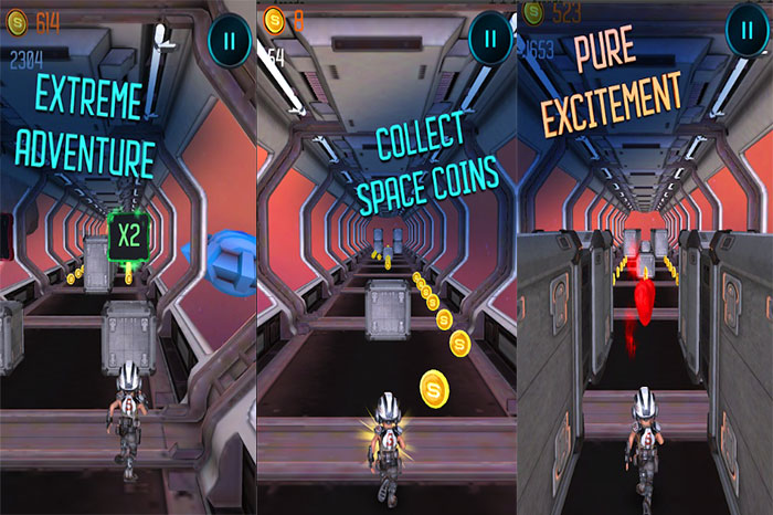 Space Run 3D – Infinite Running Adventure