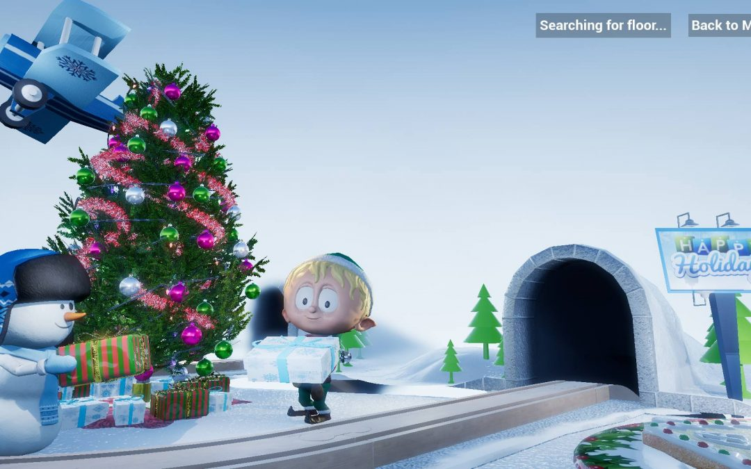 Grab the Holiday fun with Ollie the AR Elf