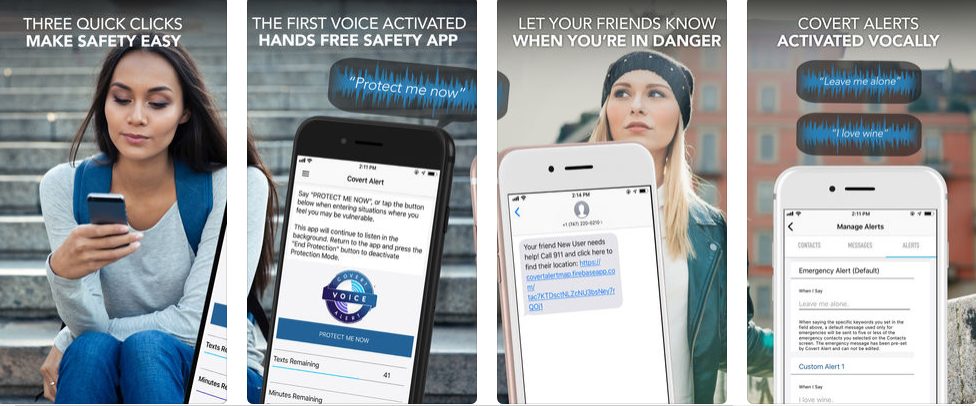 Covert Alert – Get This Voice Activated Security App And Ensure Your Safety