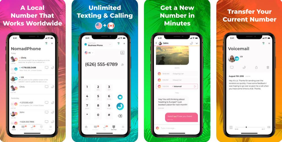 NomadPhone : Solve Your Communication Problems