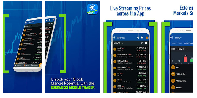 Edelweiss: Live Trading App-BSE, NSE, SENSEX, NIFTY – Mobile Application Review