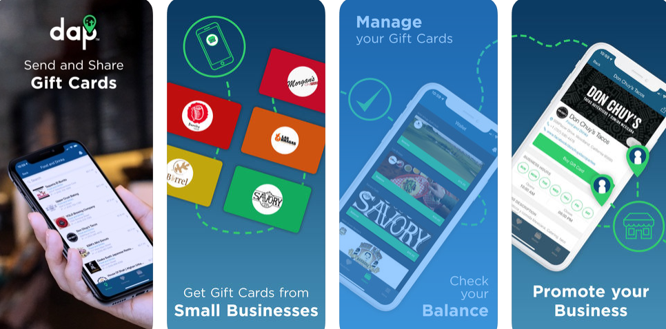 Making gift cards convenient for people & local businesses