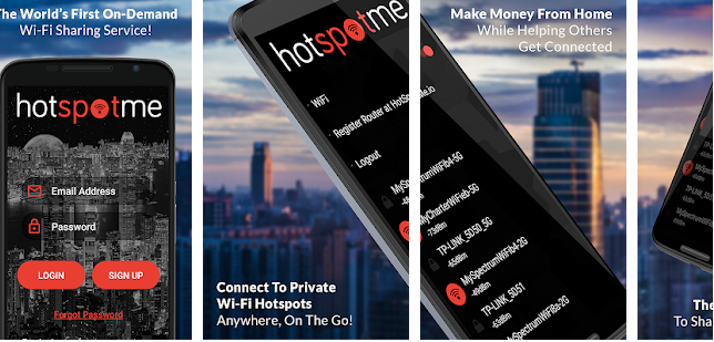 Get Wi-Fi When You Need It Most :HotSpotMe
