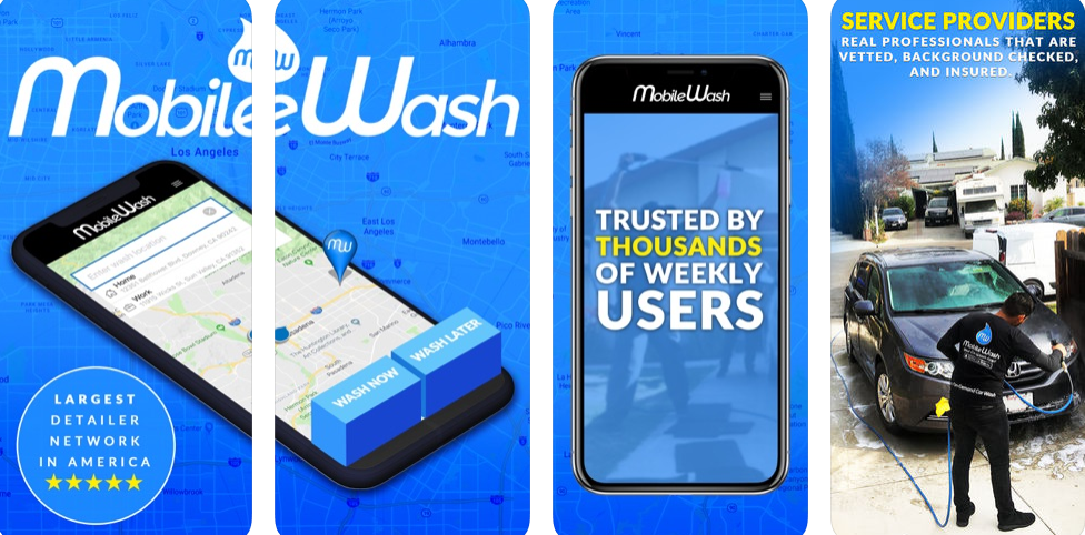 Mobile Wash – Get Your Car Cleaned With Just A Single Click