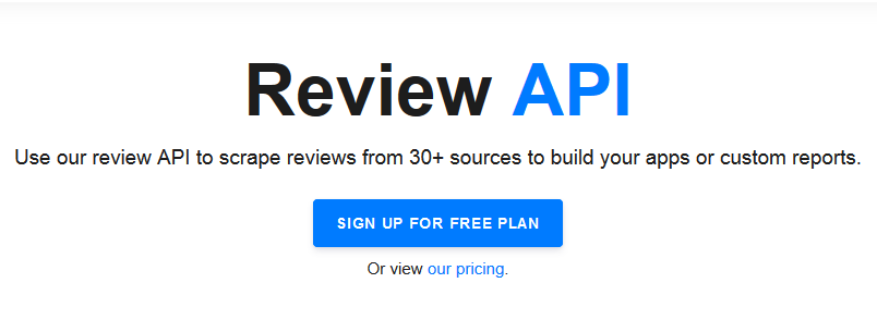 Extract Online Review Data Content With the Ultimate Review API