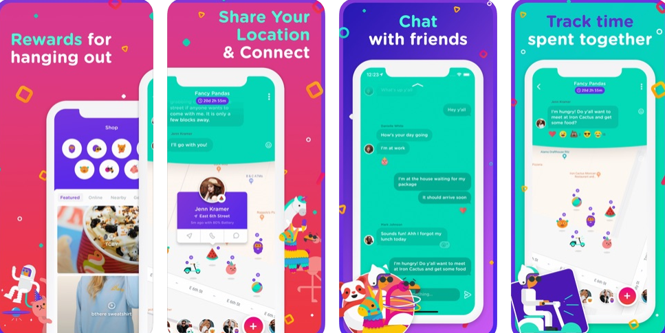 Never lose your friends again with this new group messaging app!