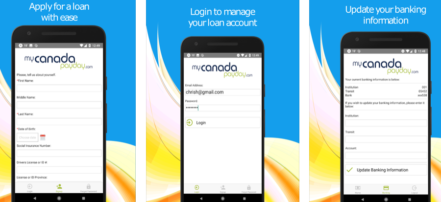 MyCanadaPayday – The Saviour App for your Cash Crunch