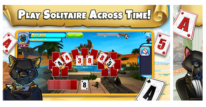 Solitaire Time Warp is 2019s most innovative solitaire game.
