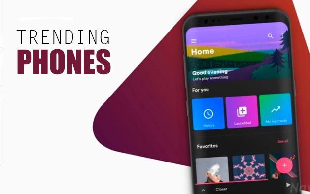 Top trending phones of 2020