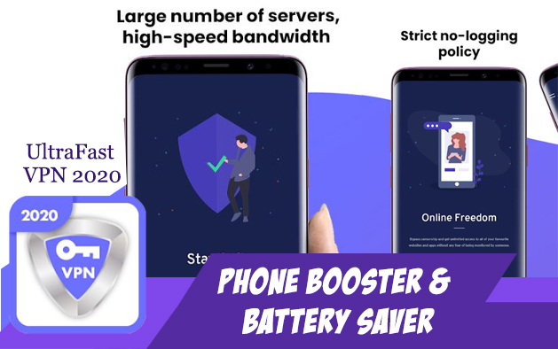 UltraFast VPN 2020 – Phone Booster | Battery Saver