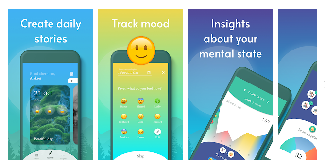 Daily App Journal and Guided Diary – Your Mobile Companion to Beat Out Stress