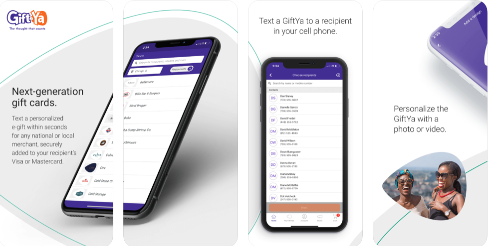 GIFTYA- CHANGE THE WAY OF GIFTING!