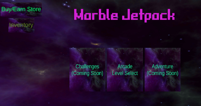 MARBLE JETPACK- SHOOT THE STARS