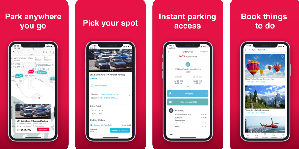 Way – The Premium App That Gives You Instant Parking Access