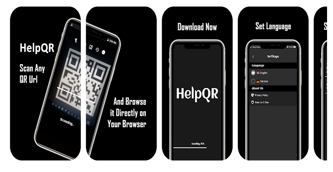 HelpQR – The Scan and Browse App to Fetch the Videos You Want