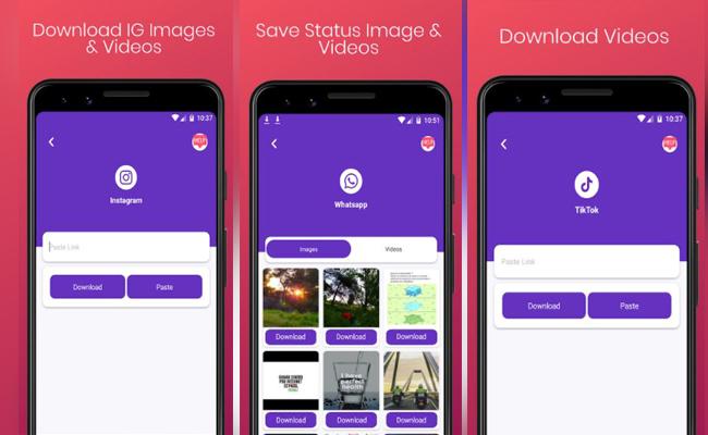 Status Saver 5in1 – Social downloader Tools
